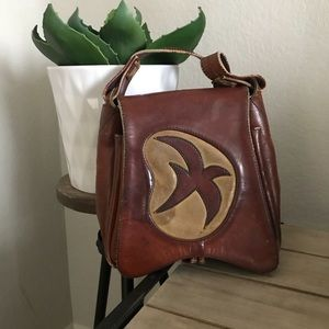 Handbags - One of a kind vintage leather purse